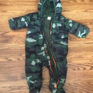 ❄️❄️ Baby boy all-in-one zip up winter jacket❄️❄️